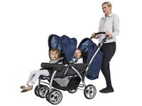 CUGGL TWIN PUSHCHAIR ****USED ONLY ONCE***