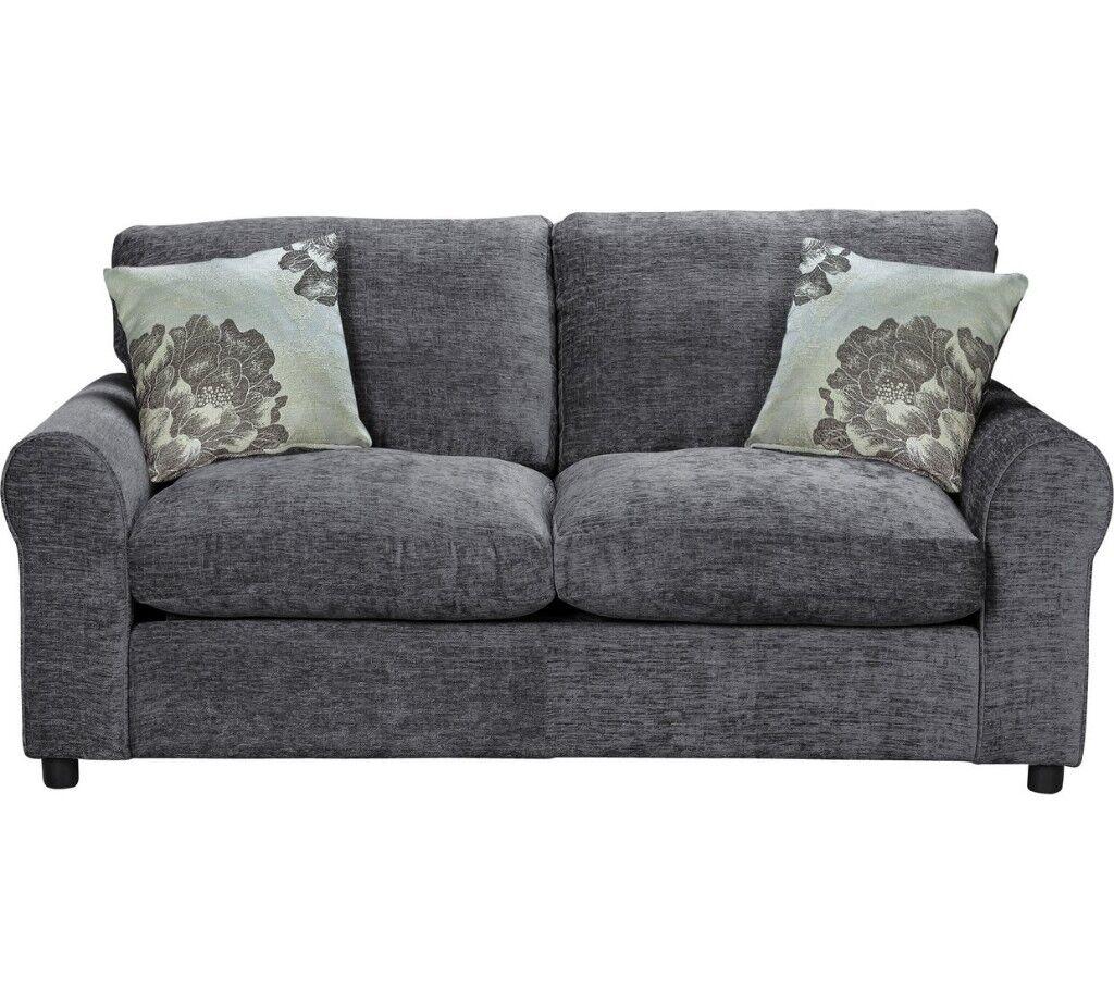 Sofa Bed Home Tessa 2 Seater Fabric Sofa Bed
