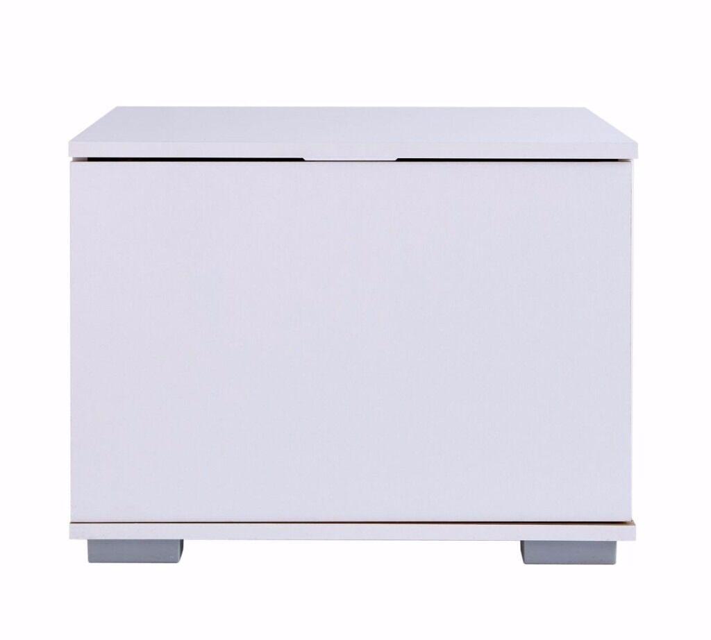 Hygena Modular Base TV Unit - White/Oak (NEW)