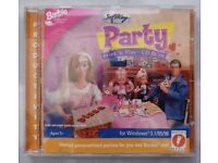 Barbie Party Print 'n Play (PC: Windows) CD-ROM