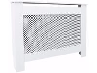 HOME Odell Small Radiator Cover - White 534.