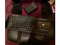 Vintage 1980s Sinclair ZX Spectrum +2 128k tested and working inc 40+ games