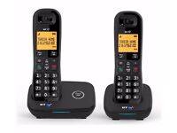 BT 1200 Twin Landline Telephone Nuisance Call Blocker