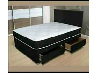 Great soft medium quality memory foam Divan Bed