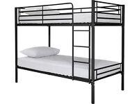 Samuel Shorty Bunk Bed - Black