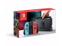 Nintendo Switch console brand new