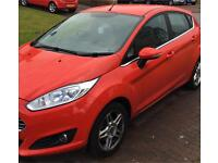 **Ford Fiesta 1.2 *Excellent condition *2013 Red *5Dr **