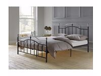 Brynley Small Double Bed Frame - Black Ex display