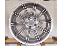 "Genuine Rear 9j BMW MV4 19"" M Sport E90 E92 E93 Alloy Wheels"