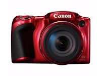 Canon Powershot SX420 20MP 42x Zoom Bridge Camera - Red NEW