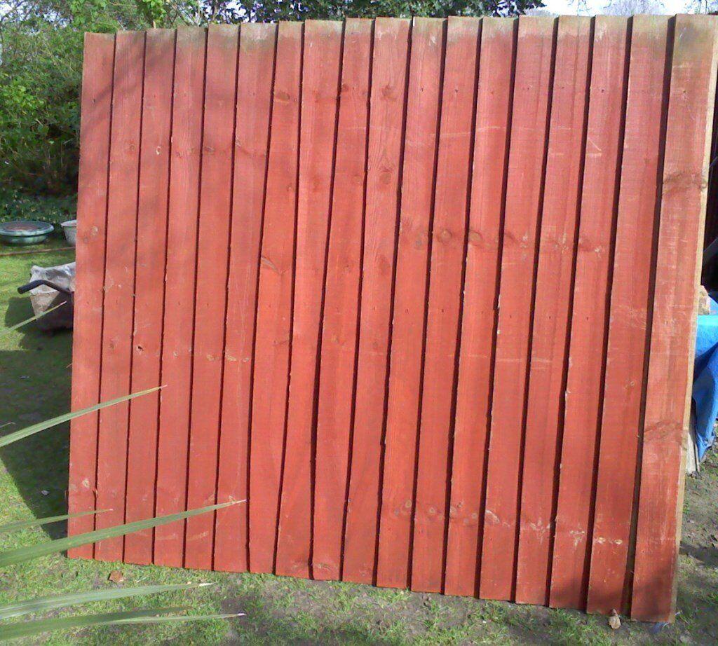 3 closeboard fence panels in norwich norfolk gumtree 3 closeboard fence panels image 1 of 3 baanklon Choice Image