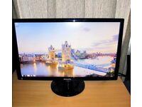 Philips E-line 241E1SB 24in Widescreen 1920x1080p Full HD LCD Monitor