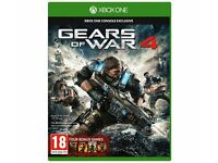 GEARS OF WAR 4 GAMES SEALED