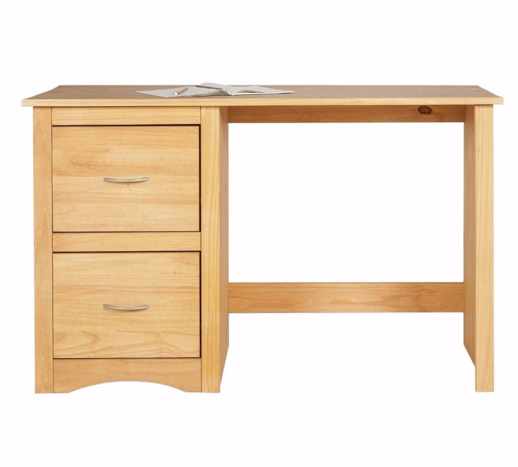 Solid Wood Pine Desk (Argos currently selling for £89.99 ) - New (still in box)
