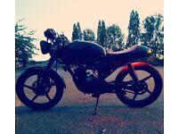 Yamaha YBR 125cc Cafe Racer Motorcycle - Learner Legal