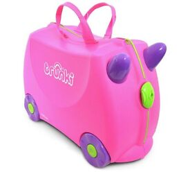 Trunki Ride on Suitcase x 2 - Pink