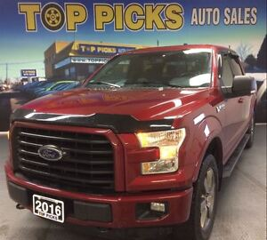 2016 Ford F-150 SPORT, FX4, NAVIGTAION, 20'S!