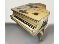 Rare Chinoiserie Baby Grand Piano - Delivery