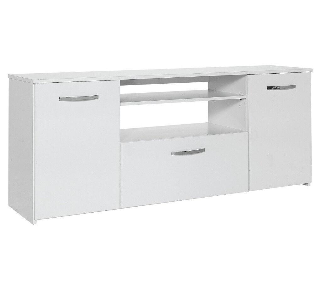 Hygena Hayward Sideboard and TV Unit - White