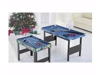 Chad Valley 4ft Snooker/Pool Game Table 310