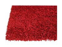 Shaggy Rug-RED