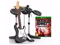 Xbox One Rock Band 4 Band-In-A-Box