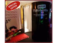 **From £225** Birmingham & Midlands Photo Booth Hire Christmas Party Wedding Birthday Corporate Prom