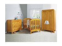 Mamas & Papas Vico 3 Piece Nursery Furniture Set Cot bed, dresser and wardrobe