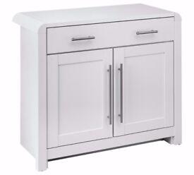 Ex display Elford 2 Door 1 Drawer Sideboard - White