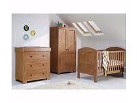 Mamas & Papas Harrow 3 Piece Nursery Set - Dark Oak – BRAND NEW, BOXED & UNOPENED