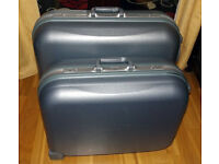 2 large hardcase suitcases. Very good condition