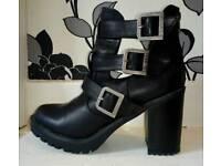 Firetrap boots, size 8