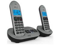 BT 3580 Twin Nuisance Call Blocker Cordless Phone UB