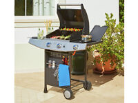 Premium 2 Burner Gas BBQ with Side Burner [ARGOS]