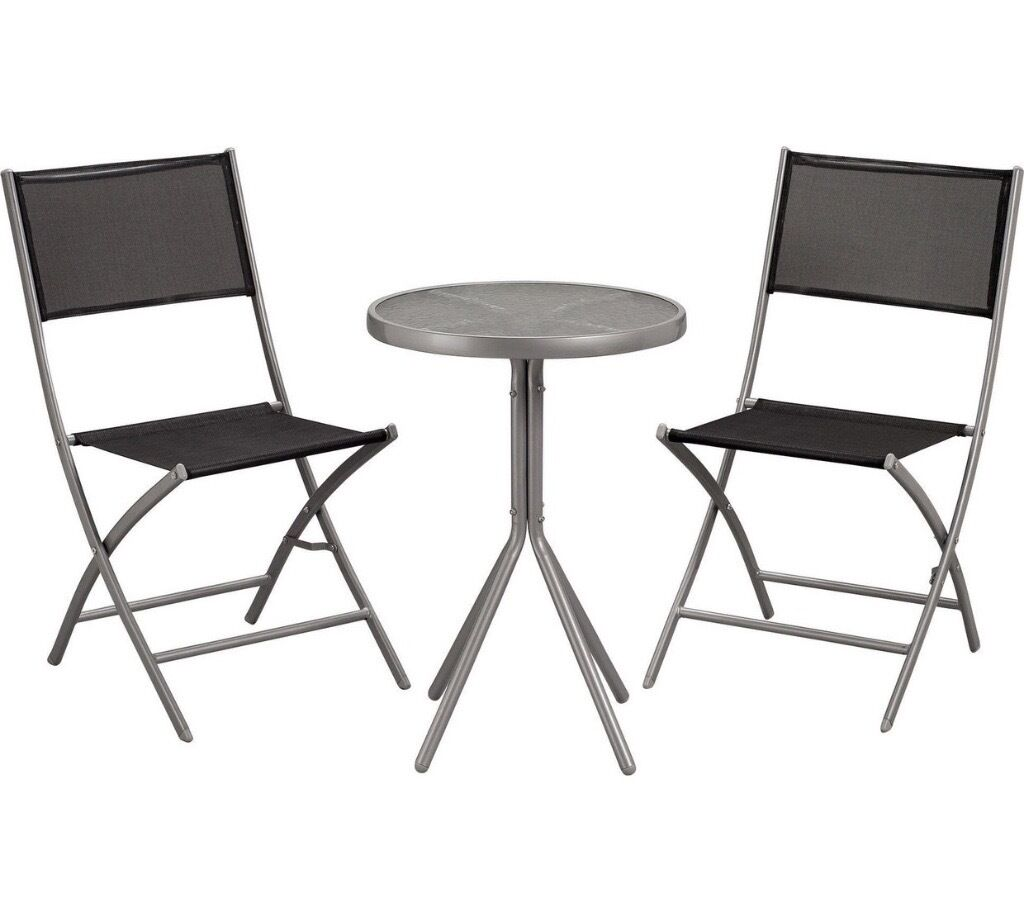 Argos garden table and chairs as new