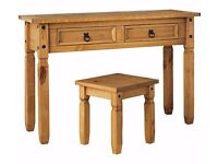 Ex display Puerto Rico Dressing Table ONLY -Pine