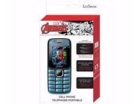 Sim Free Dual Sim The Avengers Mobile Phone - Brand New Sealed Box