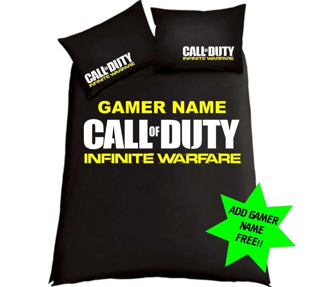 Call Of Duty Infinite Warfare Double Bedding ......Free Gamertag