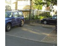 Well-lit parking space driveway for rent in West London W12 near Shepherds Bush or Hammersmith