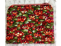 GORGEOUS WATER LILLY HANDMADE BAG 100% COTTON