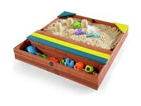 Plum Store-It Outdoor Play Wooden Sand Pit