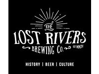 Lost Rivers Brewing Co is looking for a Sales Executive to take our Beers to the wider London market