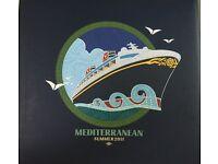 Disney Cruise Line Photo Album Vintage Mediterranean Cruise Summer 2011