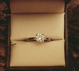 1 Carat Goldsmith Diamond Ring size K
