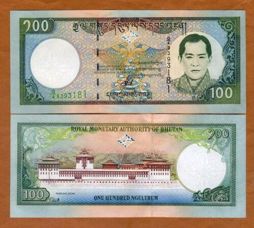 Bhutan, 100 Ngultum, ND (2000), P-25, UNC