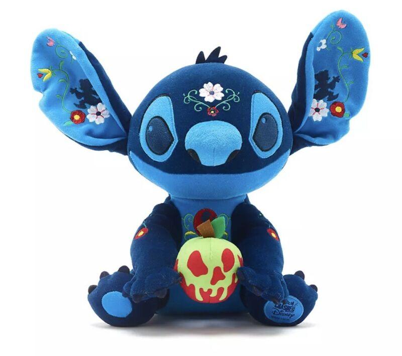 Stitch Crashes Disney Snow White Plush Limited Edition 8/12 In Hand