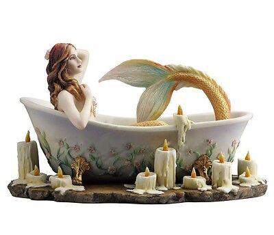 "8.5"" BATHTIME By Selina Fenech Mermaid Fantasy Nautical Decor Statue Sculpture"