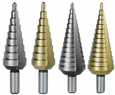 Terrax by RUKO, Step Drill Bit, CBN Ground HSS and HSS-TiN, Various Sizes