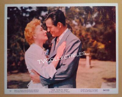 8x10 Lobby Card~ HER TWELVE MEN ~1954 ~Greer Garson ~Robert Ryan