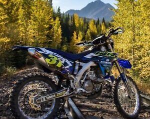 2012 Yamaha wr 450/Trade for Atv